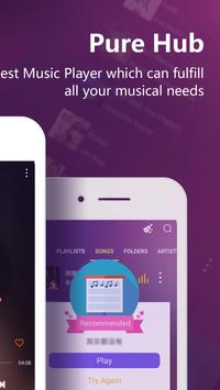 PureHub - Free Music Player apk screenshot