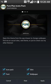 Nova Theme - PurePlus apk screenshot