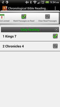 Chronological Bible Plan apk screenshot
