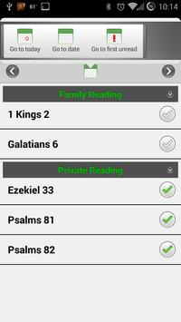 Bible Reading Plan - M'Cheyne apk screenshot