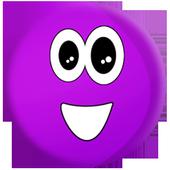 Purple Ball Blob icon