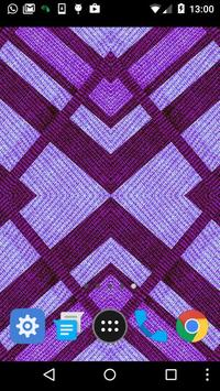 purple diamond live wallpaper apk screenshot