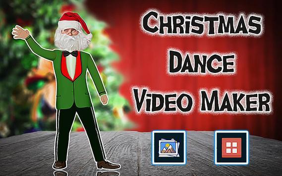 christmas dance video maker poster