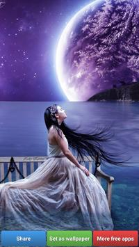 Beautiful Moon HD Wallpapers screenshot 5