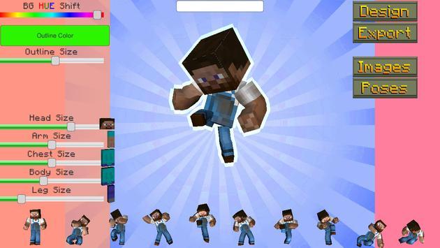 Avatar Creator for MineCraft apk screenshot