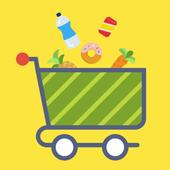 Supermarket Swipe icon
