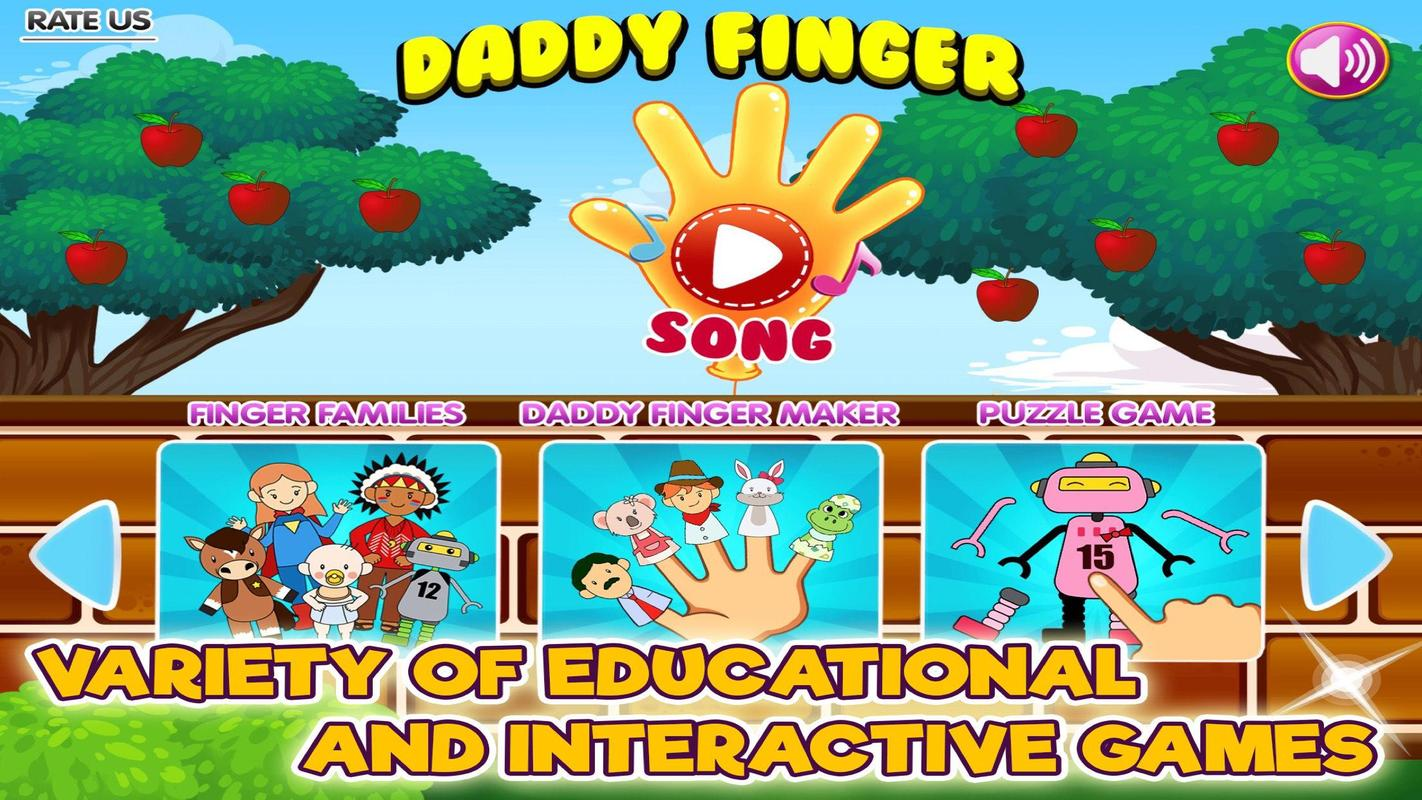 Daddy finger family song & games for android apk download.
