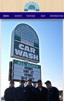 RainTunnel Car Wash poster