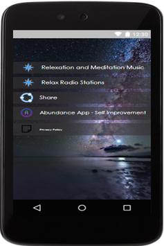 relaxing music app relaxation music app poster