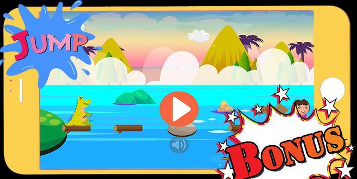 Cute dora blocky jump strike explorer apk screenshot