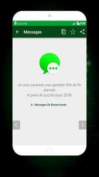 Funny Bonne Année Messages 2018 screenshot 4
