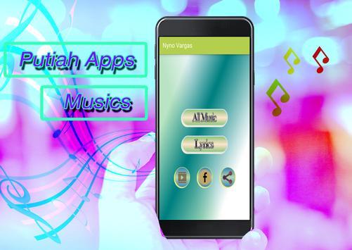 Nyno Vargas Songs apk screenshot