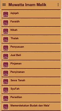 Muwatta Imam Malik Terjemah screenshot 3