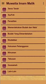 Muwatta Imam Malik Terjemah apk screenshot