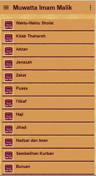 Muwatta Imam Malik Terjemah screenshot 2