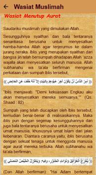 Nasihat Wanita Dunia Islam screenshot 3
