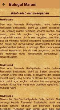 Bulughul Maram Terjemah screenshot 12