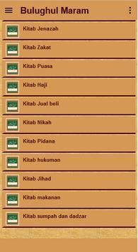 Bulughul Maram Terjemah apk screenshot
