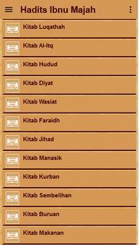 Hadis Ibnu Majah Terjemah apk screenshot