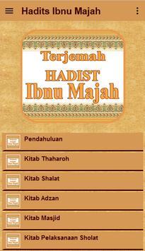 Hadis Ibnu Majah Terjemah screenshot 1