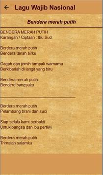 Kumpulan Lagu Wajib Lengkap screenshot 5