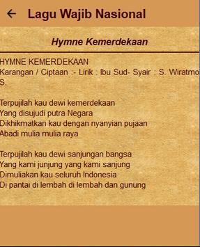 Kumpulan Lagu Wajib Lengkap screenshot 6