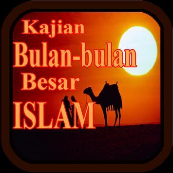 Kajian Bulan Besar Islam poster