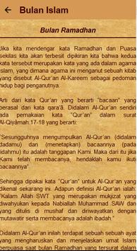 Kajian Bulan Besar Islam apk screenshot