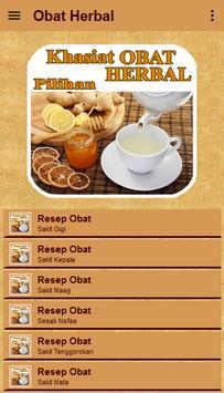 Khasiat Obat Herbal Pilihan apk screenshot