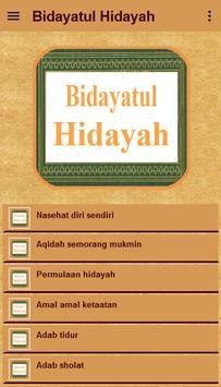 Kitab Bidayatul Hidayah screenshot 1