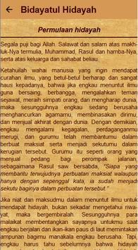 Kitab Bidayatul Hidayah screenshot 22