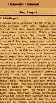 Kitab Bidayatul Hidayah screenshot 29