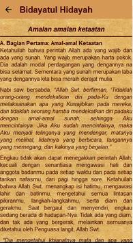 Kitab Bidayatul Hidayah screenshot 7