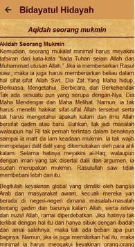 Kitab Bidayatul Hidayah screenshot 4