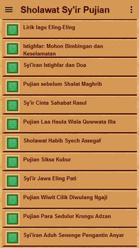 Sholawat Sy'ir Puji-Pujian apk screenshot