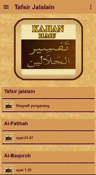 Tafsir Jalalain Quran Terjemah screenshot 1
