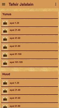 Tafsir Jalalain Quran Terjemah screenshot 4