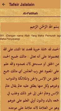 Tafsir Jalalain Quran Terjemah screenshot 5