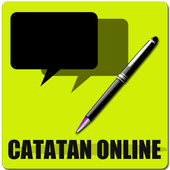Catatan Online icon