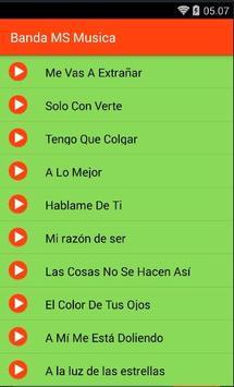 Banda MS Musica screenshot 2
