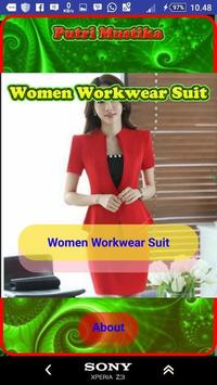 Women Workwear Suit poster