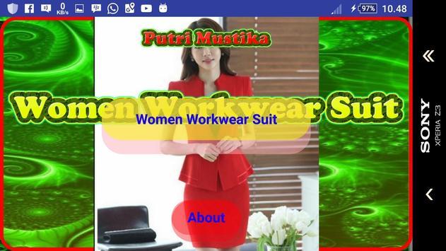 Women Workwear Suit screenshot 1