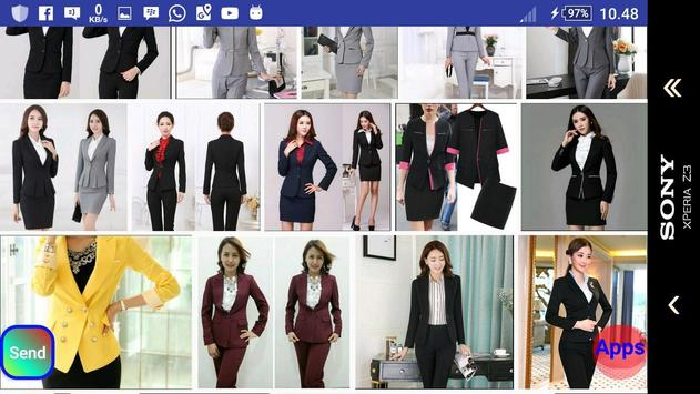 Women Workwear Suit screenshot 24