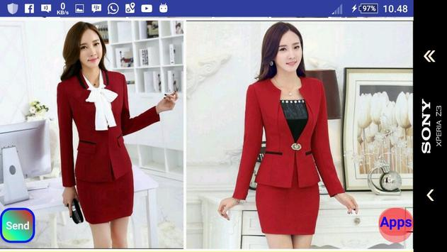 Women Workwear Suit screenshot 5