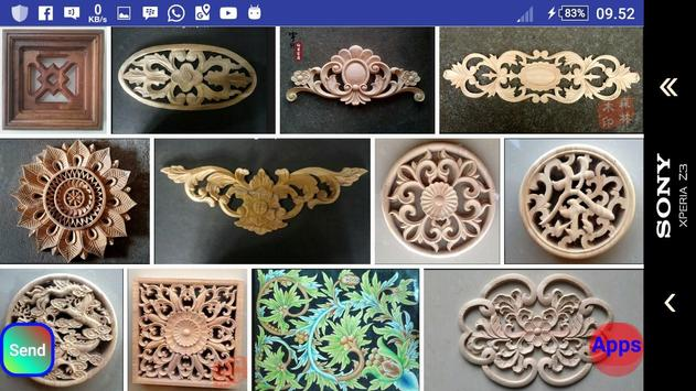 Wood Carving Design Ideas screenshot 10