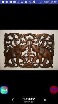 Wood Carving Design Ideas screenshot 11