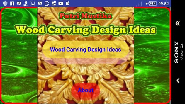 Wood Carving Design Ideas screenshot 15