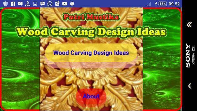 Wood Carving Design Ideas screenshot 1