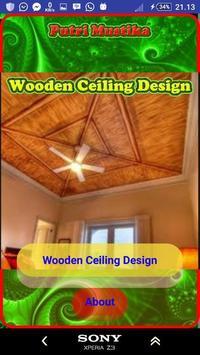Wooden Ceiling Design poster