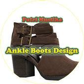 Ankle Boots Design icon